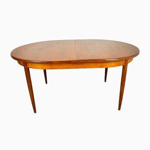 Tavolo da pranzo allungabile vintage in teak di G-Plan, anni '60