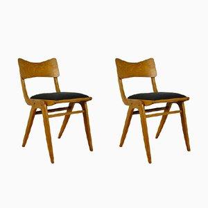 Boomerang 229XB Esszimmerstühle von Gościńskie Furniture Factory, 1960er, 2er Set
