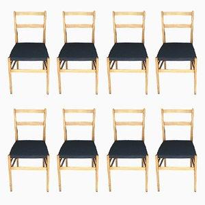 Stühle von Gio Ponti für Cassina, 1950er, 8er Set