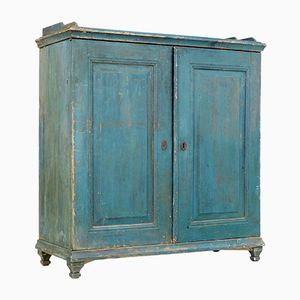 Antique Swedish Painted Pine Sideboard