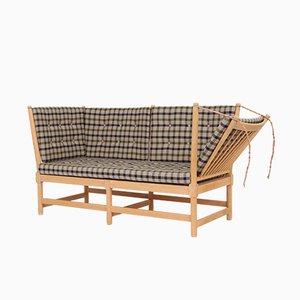 Modell 1789 Sofa aus solider Buche von Børge Mogensen für Fritz Hansen, 1979