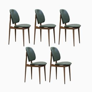 Vintage Pegasus Chairs by Pierre Guariche for Baumann, Set of 5