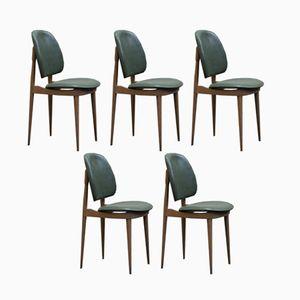 Vintage Pegasus Stühle von Pierre Guariche für Baumann, 5er Set