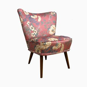Vintage Floral Cocktail Chair from Artifort, 1950s