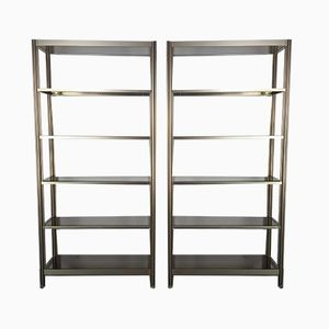 Vintage Bookcases by George Ciancimino, 1970s, Set of 2