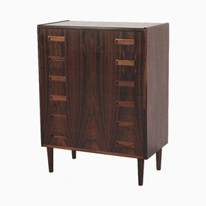 Vintage Danish Chest of 6 Drawers in Rosewood from P. Westergaard Mobelfabrik