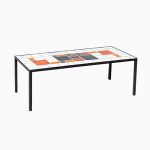 Ceramic Coffee Table by Louise Servaes, 1960s