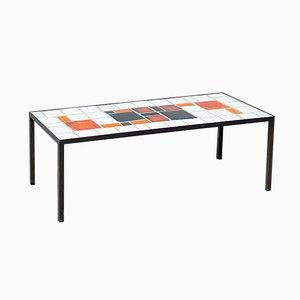 Table Basse en Céramique par Louise Servaes, 1960s
