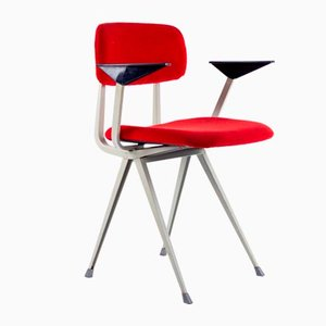 Result Chair by Friso Kramer and Wim Rietveld for Ahrend De Cirkel, 1970s, Set of 4