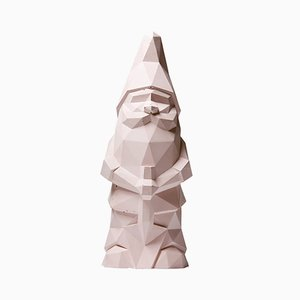 Mini Nino Garden Gnome in Pink from Plato Design