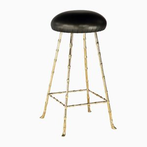 High Upholstered Bar Stool by Rose Uniacke