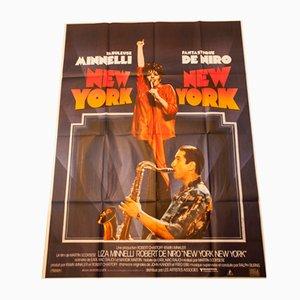 Affiche de Film New York New York, 1980s