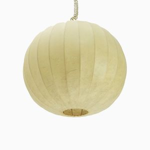 Lampe à Suspension Cocoon Mid-Century, Italie, 1960s