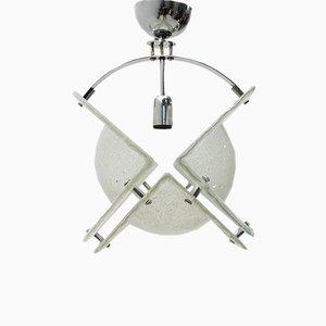 Mid-Century Italian Murano Glass Pendant Lamp, 1970s