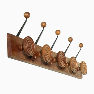 Art Deco Italian Coat Rack, 1920s
