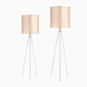 Lámpara de pie cuadrada pequeña de Esa Vesmanen para FINOM lights
