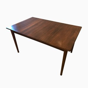 Teak Extendable Dining Table by Nils Jonsson for Hugo Troeds, 1960s