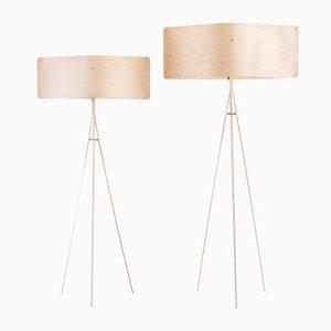 Kleine weite Stehlampe von Esa Vesmanen für FINOM lights