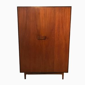 Teak Triple Wardrobe by Ib Kofod-Larsen for G-Plan, 1960s