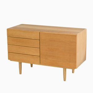 Small Vintage Danish Sideboard in Oak by Ib Kofod Larsen