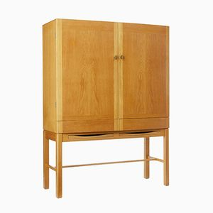 Oak Cabinet on Stand by Gunnar Mystrand for Kallemo, 1960s
