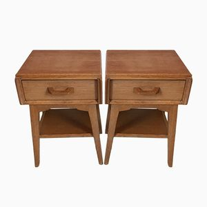 Oak Model 832 Nightstands by Donald Gomme for G-Plan, 1960s, Set of 2