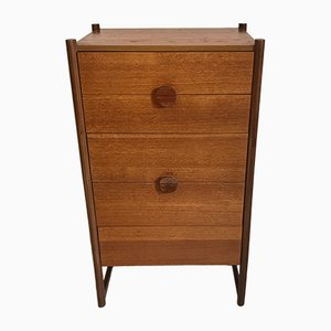 Vintage Teak Tall Boy from Stag, 1960s