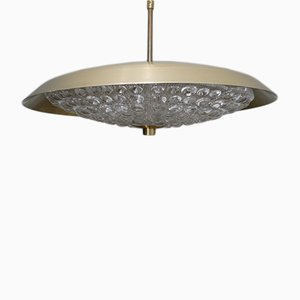 Vintage Scandinavian Pendant Lamp by Carl Fagerlund for Orrefors