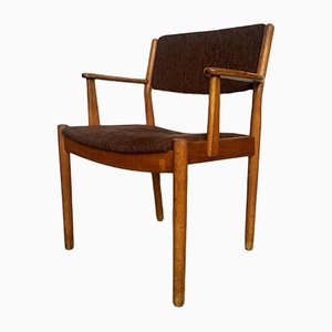 Mid-Century Danish Oak Arm Chair by Poul Volther for FDB MØbler, 1950s