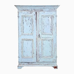 Antique Swedish Painted Cupboard