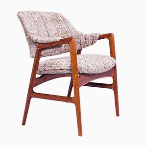 Fauteuil Vintage en Teck par Ingmar Relling pour Westnofa