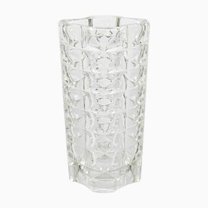 French Windsor Glass Vase from Luminarc, 1970s