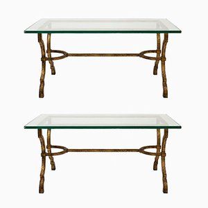 Coffee Tables from Maison Ramsay, 1970s, Set of 2