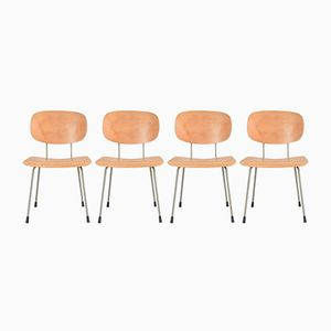 116 Chairs by Wim Rietveld for Gispen, 1960s, Set of 4