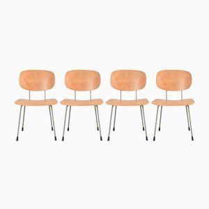 116 Stühle von Wim Rietveld für Gispen, 1960er, 4er Set