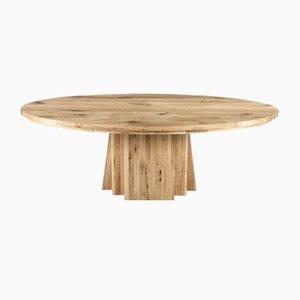 Ovaler Tisch aus Natureiche von Rose Uniacke