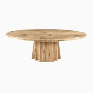 Table Ovale en Chêne Naturel par Rose Uniacke