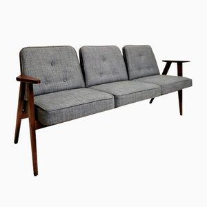 Sofá de tres plazas vintage de Judith Burian, años 50