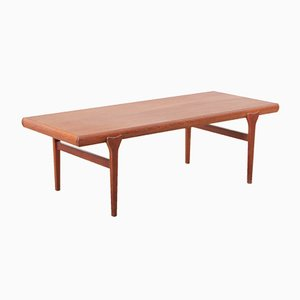 Table Basse en Teck par Johannes Andersen, Scandinavie, 1960s