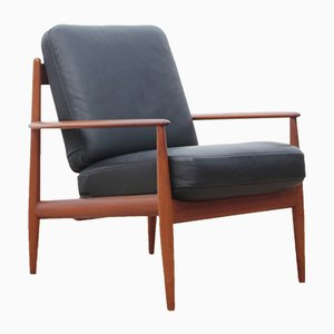 Fauteuils en teck par Grete Jalk pour France & Søn, Scandinavie, 1960s, Set de 2