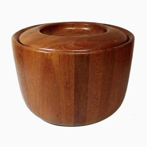 Vintage Danish Teak Ice Bucket