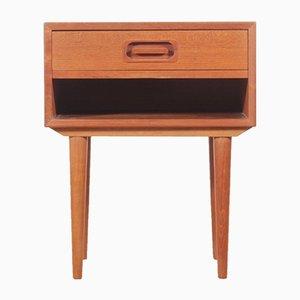 Nachttisch aus Teak von Johannes Andersen für Dyrlund, 1960er