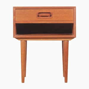 Teak Nightstand by Johannes Andersen for Dyrlund, 1960s