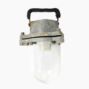 Lámpara industrial 518-05 checa, años 60