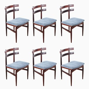 Scandinavian 30 Rio Rosewood Chairs by Poul Hundevad, Set of 6