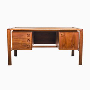Vintage Teak Desk from H.P. Hansen, 1970s