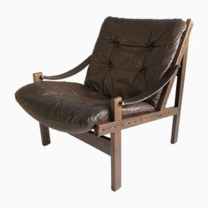 Vintage Hunter Chair by Torbjorn Afdal for Bruksbo