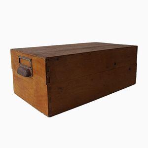 Archivbox aus Holz, 1960er