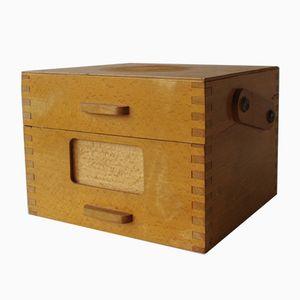 Portadocumenti in legno, anni '60