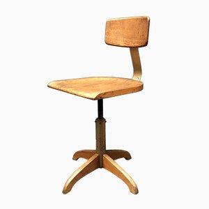 Chaise d'Atelier Vintage par AMA Elastik, Allemagne, 1940s